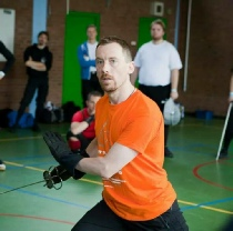 Rob Runacres, Instructor at The Renaissance Sword Club